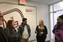 Future Institute tour at the Richard Wolf Medical Instruments Corporation March 5 2019..
